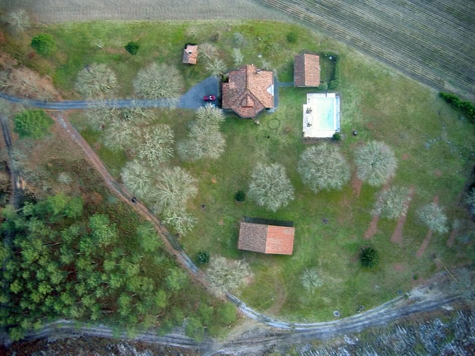 Castets Landes - Photographie aérienne - www.raphaëlJun.net - Ecologiste Libéral