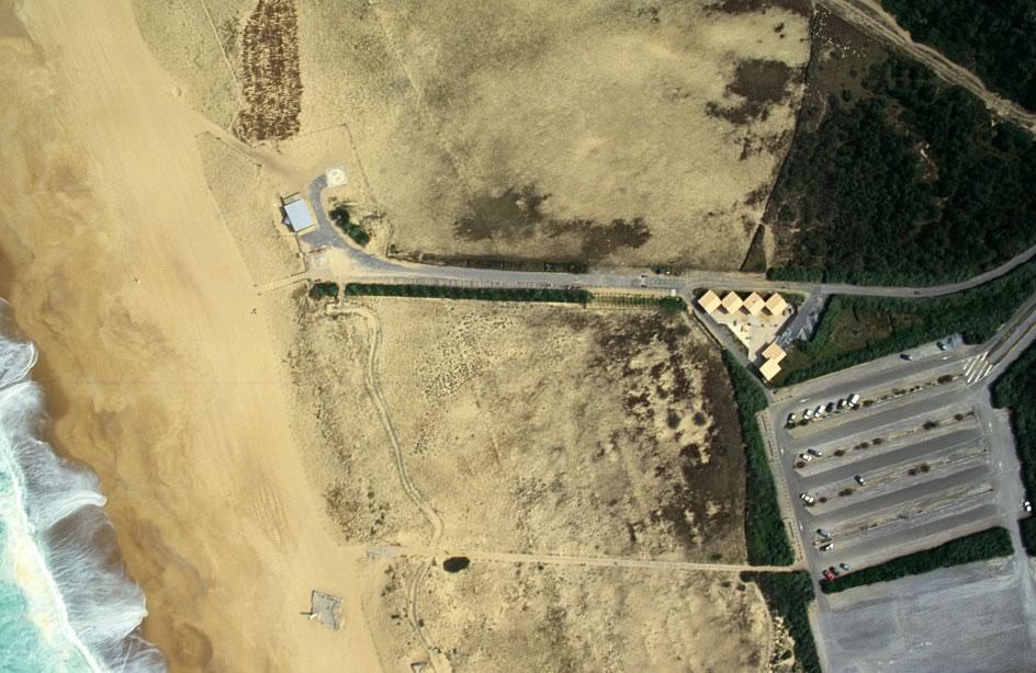 Tarnos plage - Photographie aérienne - www.raphaeljun.net - Ecologiste Libéral